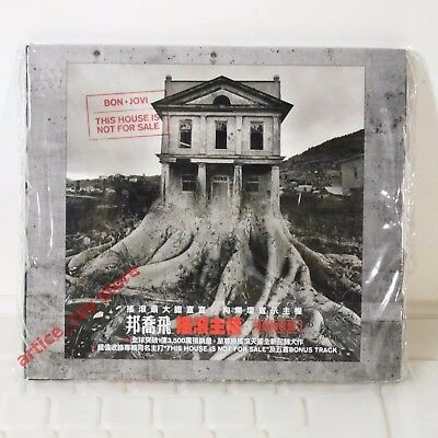 Bon Jovi This House Is Not For Sale Taiwan CD w/OBI+Promo Card 2016 NEW