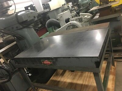 Rahn Granite Surface Plate and Stand