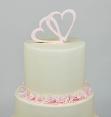 FMM Sugarcraft - Entwined Heart Cutter - Perfect for sugarpaste cake decoration