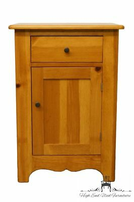 """TOM SEELY Country French Solid Pine 21"""" Nightstand"""
