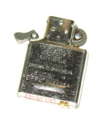 Standard Insert For A Zippo Lighter - Just the insert NEW AND UNUSED