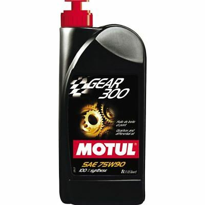 1 Liter Motul Gear 300 75W90 Synthetic Gear Oil