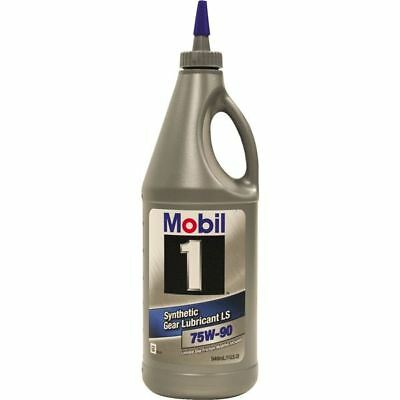1 Quart Mobil 1 75W90 Synthetic Gear Lubricant