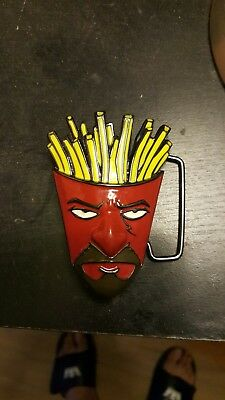 Aqua Teen Hunger Force Fry lock Belt Buckle by Adult Swim New without tags