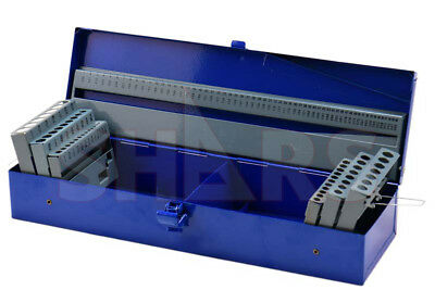 Index Box For 115 Pcs 1/16~ 1/2 A~Z 1~60# Jobber Drill set
