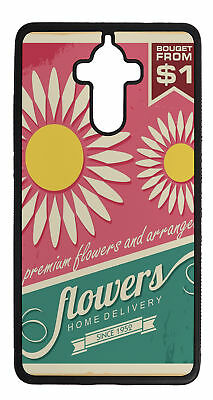 Phone Cover Case suitable for Huawei Mate 9 Plus Flower  Vintage flowers