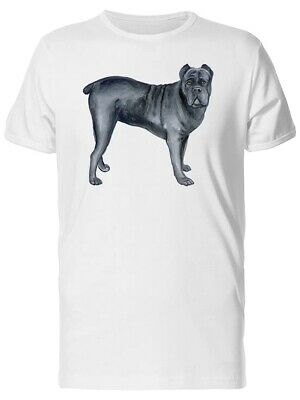 Large Cane Corso Dog Men's Tee -Image by Shutterstock