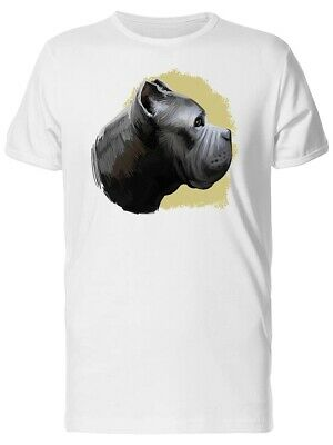 Watercolor Cane Corso Dog Men's Tee -Image by Shutterstock