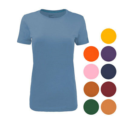 Nike Women's Cotton Slim Fit T-Shirt