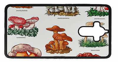 Phone Cover Case suitable for Huawei Mate 9 Plus Flower  Mushrooms
