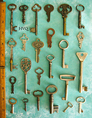 Prime Collection Lot Old Antique Vintage Rare Skeleton Flat Keys More Sets Here!