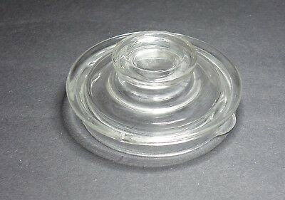 Vintage 2 - 4 Cup Pyrex Glass Coffee Pot Lid Only For Flamewear 7754-B