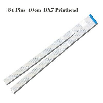 1pc DX7 Printhead Data Cable for Epson DX7 Eco solvent Printer 34pin Length 40cm