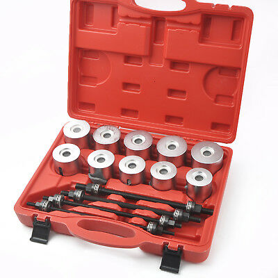 Master Bearing Press and Pull Sleeve Kit 34mm - 90mm Bear Gear Removal Tool Set