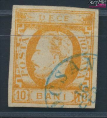 Romania 27 fine used / cancelled 1871 clear brands - Prince Karl I. (8688223