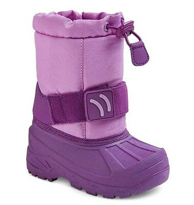 5bb10c4bd18f NWT - Cat   Jack Toddler Girls Purple Olissa Toggle Top Winter Boots - M (