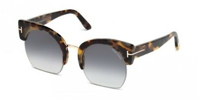 ce3d71deb4 TOM FORD SAVANNAH-02 FT 0552 BLACK/SMOKE SHADED femme AUTHENTIC ...