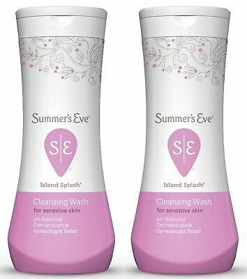 Summer's Eve Cleansing Wash Island Splash, 12 Ounce (Pack Of 2)
