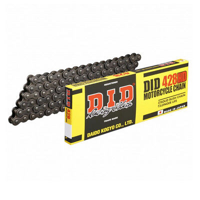 DID 428HDx136 Heavy Duty Motorcycle Chain for Sinnis Cafe 125 12-16