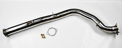 "3"" Bellmouth Turbo Catless Downpipe Exhaust FITS Subaru Impreza WRX 2008-2016"
