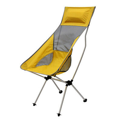 Swell Outdoor Foldable Camping Moon Chair Fishing Beach Seat Theyellowbook Wood Chair Design Ideas Theyellowbookinfo