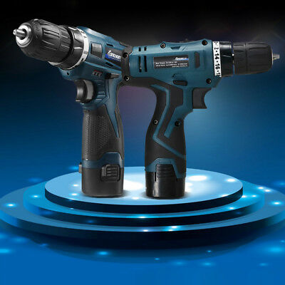 Portable Screwdriver Electric Drill Driver Cordless Wireless Rechargeable Tool