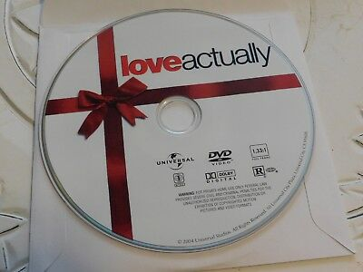 Love Actually (DVD, 2004, Full Frame Edition)Disc Only 63-358