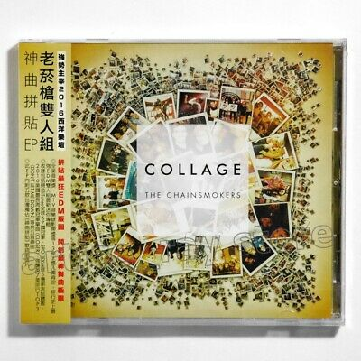 The Chainsmokers Collage Taiwan CD w/OBI+5 Promo Photo Cards 2016 Closer NEW