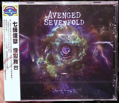 AVENGED SEVENFOLD The Stage Taiwan CD w/OBI 2016 NEW