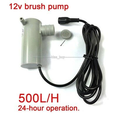 DC 12V 19w submersible water pump High lift 9M 500L/H Wash Bath Fountain For Car