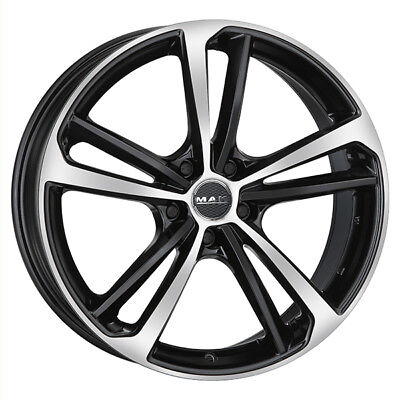 JANTES ROUES MAK NURBURG MERCEDES CLA SHOOTING BRAKE 8x19 5x114,3 BLACK MIRR CAA