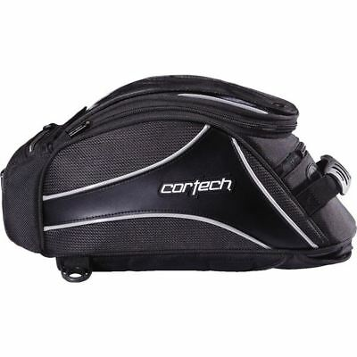 Black Cortech Super 2.0 12 Magnetic Mount Liter Tank Bag