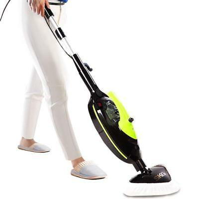 SKG 1500W Powerful Non-Chemical 212F Hot Steam Mops & Carpet and Floor Cleaning