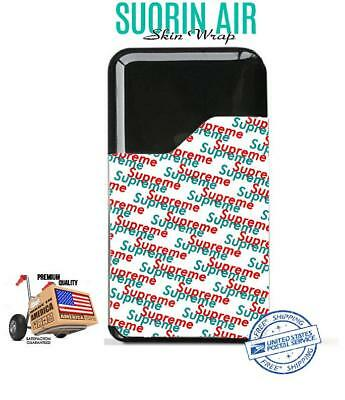 Suorin Air  Skin Wrap Protective Vinyl Decal Case Cover Sticker Suprem