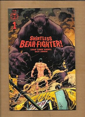 Shirtless Bear Fighter #1 Jesse James Exclusive Variant Cover Image Comics