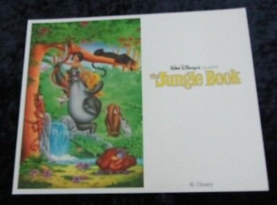 Walt Disney's The Jungle Book lobby card # 1 (90's Reissue Lobby Card)