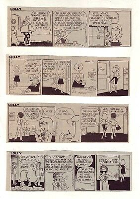 Lolly by Pete Hansen - 25 scarce daily comic strips from May 1983