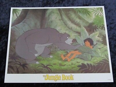Walt Disney's The Jungle Book lobby card # 5 (90's Reissue Lobby Card)