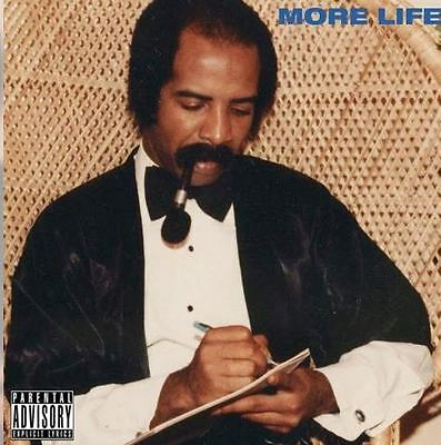 Drake More Life A Playlist by October Firm Mixtape (2017) - (As Described)