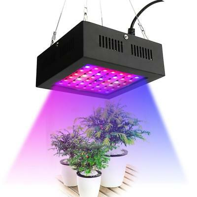 80W Hydroponics LED Grow Light Full Spectrum Indoor Vegetables Flower Plant Lamp