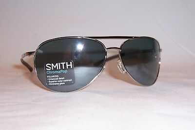 879ccd01a3920 New Smith Sunglasses Serpico Slim 2.0 s Yb7-Op Silver silver Polarized  Chromapop