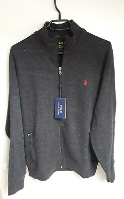 3cfdd3616ddc3 Gilet Ralph Lauren Homme taille M (US) couleur anthracite Neuf !