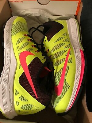 8997d26f7fa92 654443 700 NIKE Air Zoom Elite 7 Mens Running Shoes - Yellow ...