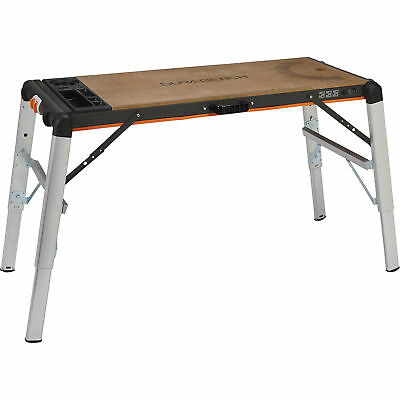 X-Tra Hand 2-in-1 Portable Step Up Work Platform 500-Lb. Capacity