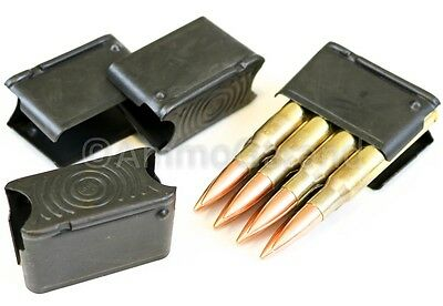 4-Pack Clips 8rd Enbloc US made for M1 Garand 30-06 8 Round Clip *FREE Ship*