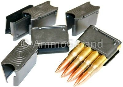 6 Pack 8rd Clips 8 Rd Round Clip for M1 Garand NEW US Made **FREE Ship