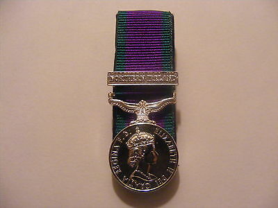General Service Medal Northern Ireland Miniature Court Mounted (GSM, CSM, NI)