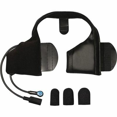 J And M Performance Series Half Helmet Integrated Headset