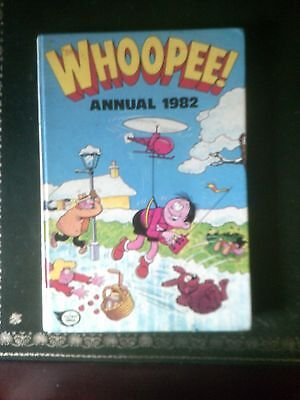 Whoopee! Annual 1982, Published 1981, Vintage Book