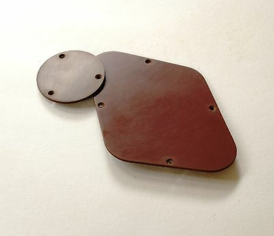 Aged Historic LP Gold Top Back Plate Brown GuitarSlinger Parts fits Les Paul ®
